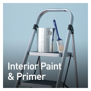 INTERIOR PAINT & PRIMERS
