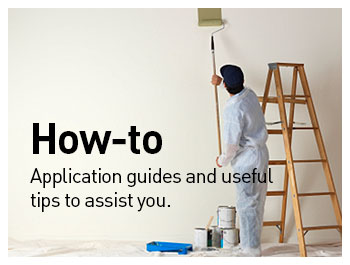CLICK HERE TO VIEW OUR HOW-TO GUIDES AND GET EXPERT TIPS ON PREPARING SURFACES AND CHOOSING THE RIGHT PRODUCT