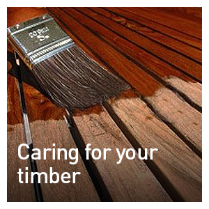 CARING FOR YOUR TIMBER