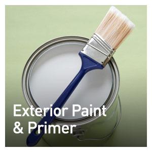 EXTERIOR PAINT & PRIMERS