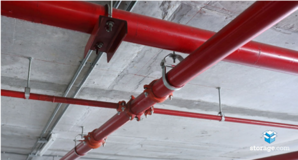 Fire Sprinkler Pipes, Horizon Bay – Tableview